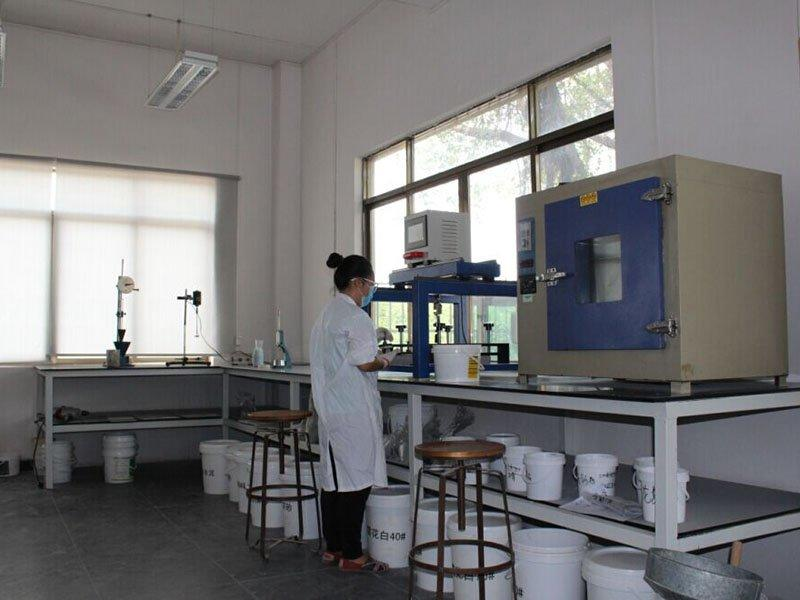 Researchers in working
