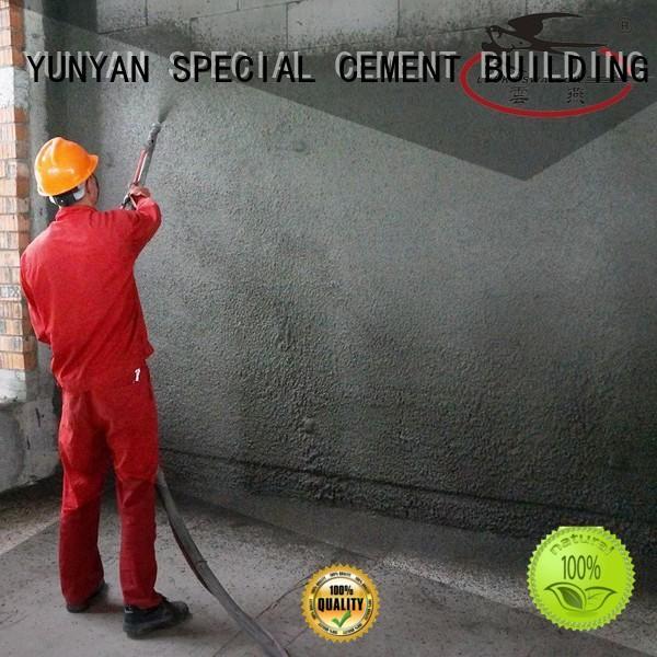 YUNYAN wall skim coat concrete foundation wall OEM for new hosue