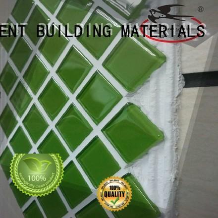 YUNYAN external pool tile adhesive free sample new house