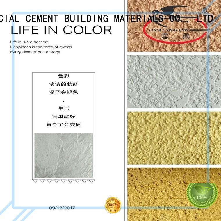 stucco paint YUNYAN Brand painting interior stucco walls