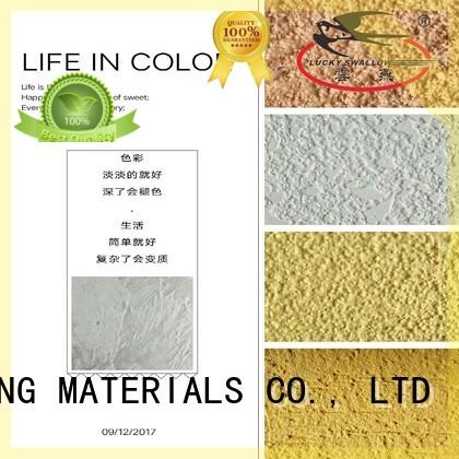 YUNYAN paint exterior textured paint stucco for wholesale cafes,