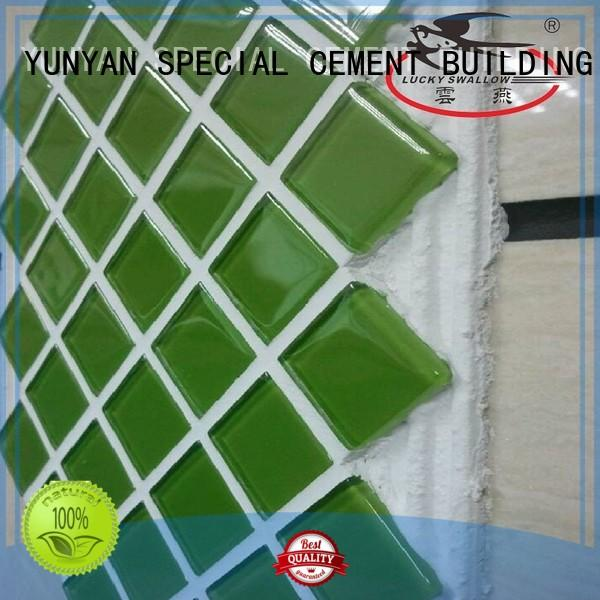 Wholesale sanded stone tile adhesive YUNYAN Brand
