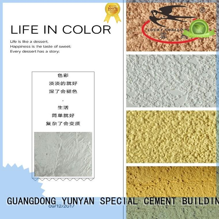 Natural Cement Based Texture Stucco Paint For Wall Decoration