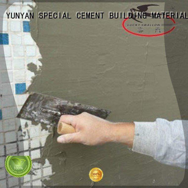 YUNYAN on-sale skim coat concrete foundation wall bulk production for outdoor wall