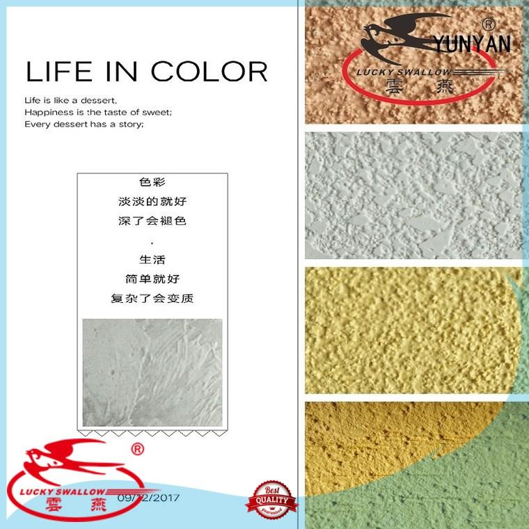 YUNYAN latest exterior stucco paint get quote cafes,