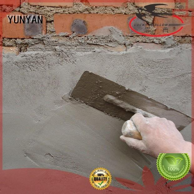 YUNYAN mortar screed floor cost customization block wall