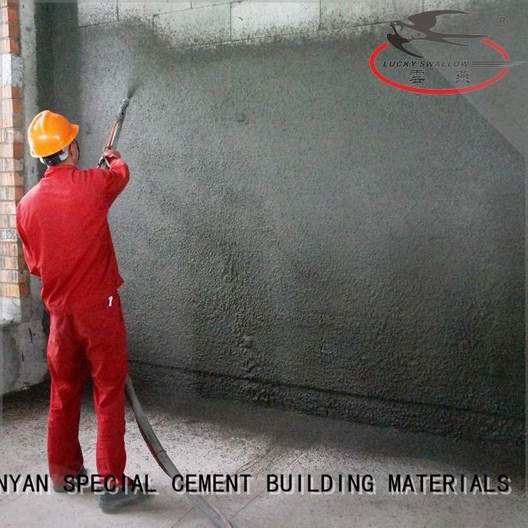 YUNYAN white skim coat concrete floor for wholesale for indoor wall
