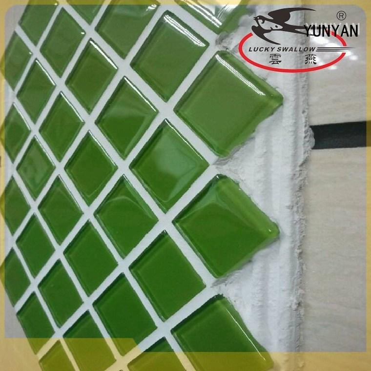 YUNYAN funky epoxy tile adhesive ODM new house