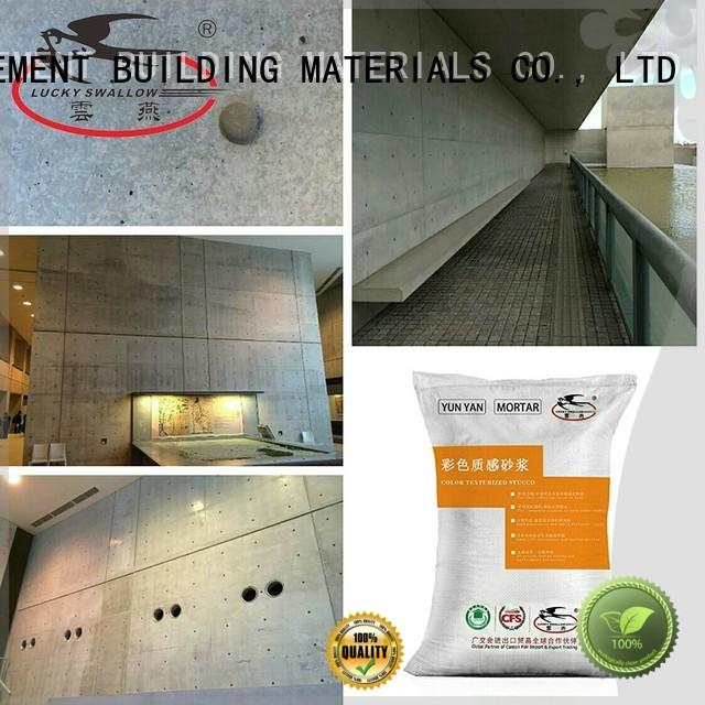 cement concrete natural interior stucco paint stucco YUNYAN Brand