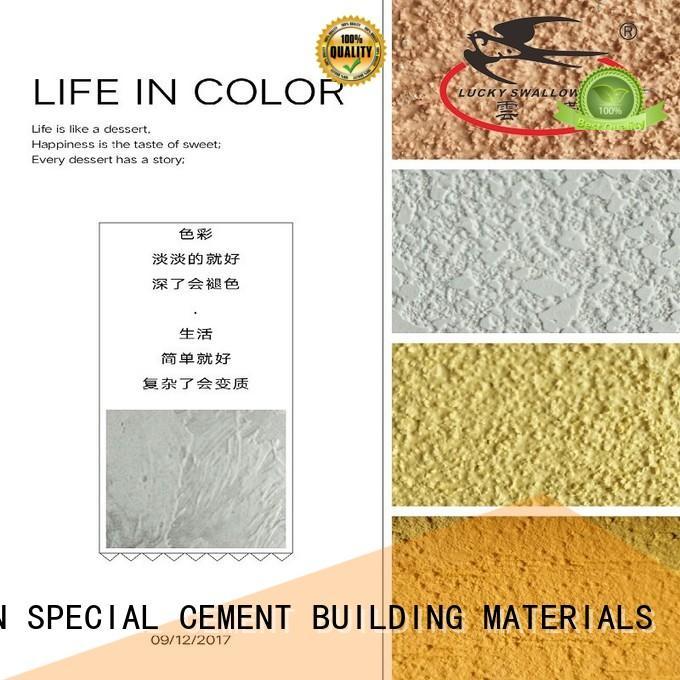 paint natural YUNYAN Brand painting interior stucco walls factory