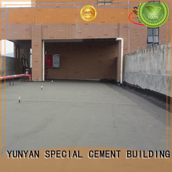 Hot waterproof basement cement floor waterplug rigid waterproofing YUNYAN Brand