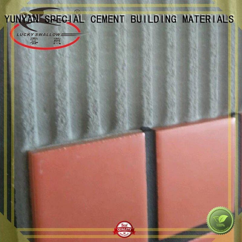 sanded tile unsanded YUNYAN Brand stone tile adhesive