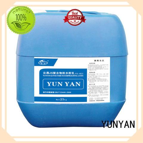 rigid setting polymer waterproof basement cement floor YUNYAN manufacture