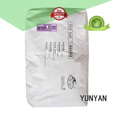 waterproof basement cement floor cement flexible setting YUNYAN Brand company