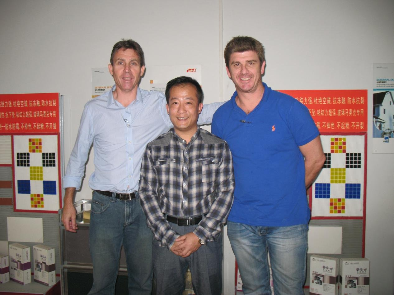 YUNYAN-Read Warmly welcome our Australia customer-20130314 News On Yunyan Special Cement Building Ma-1