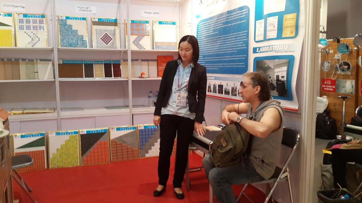 YUNYAN-YUNYAN attends to #115 Canton Fair-20140415 - Yunyan Special Cement Building Materials