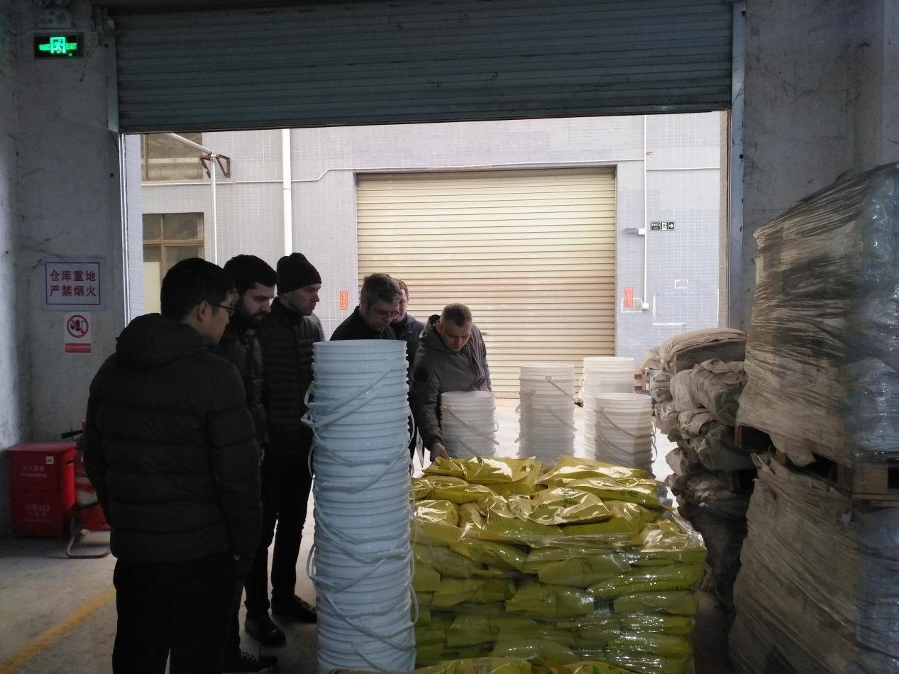 YUNYAN-Read Warmly welcome RUSSIA customers to visit our factory-20180130 News On Yunyan Special Cem