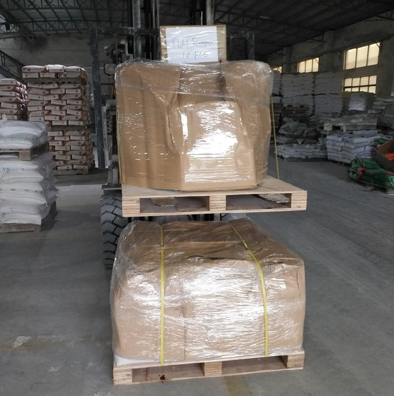 YUNYAN-We delivered Non-metallic floor hardener to Mauritius customer for food factory project | Scr