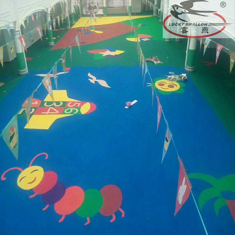 Acrylic Based  Colored Epoxy Floor Finsh Paint