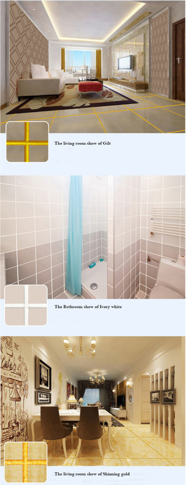 YUNYAN-Pro Non Shrink Epoxy Grout Colored Epoxy Tile Grout Manufacture-1
