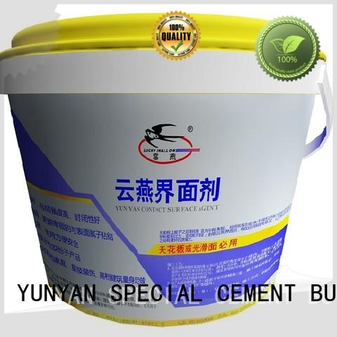 plaster screed YUNYAN Brand cement rendered wall