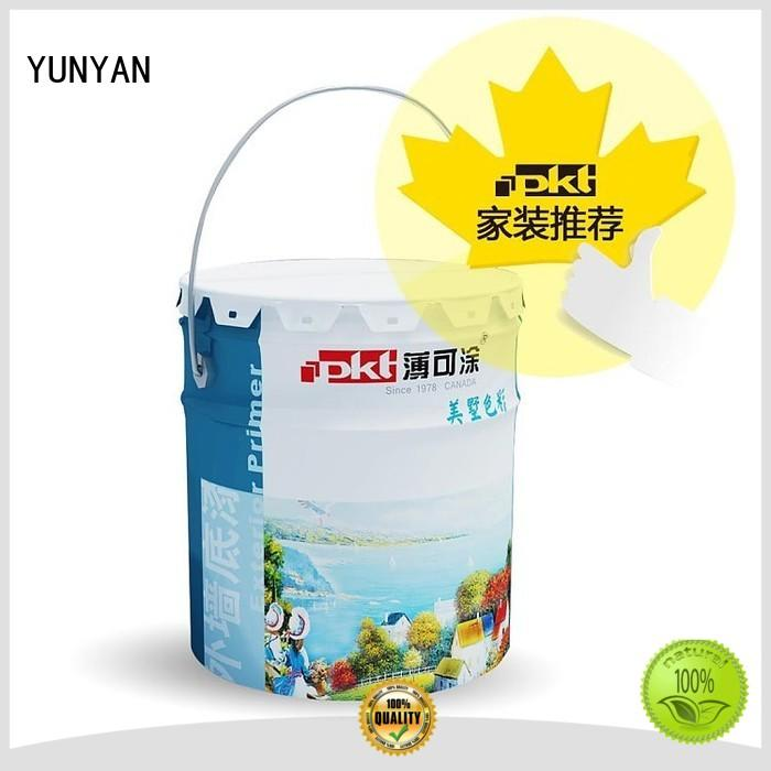 textured acrylic painting on canvas paint YUNYAN Brand textured powder coat