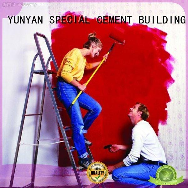 YUNYAN durable exterior emulsion paint for wholesale masonry structure