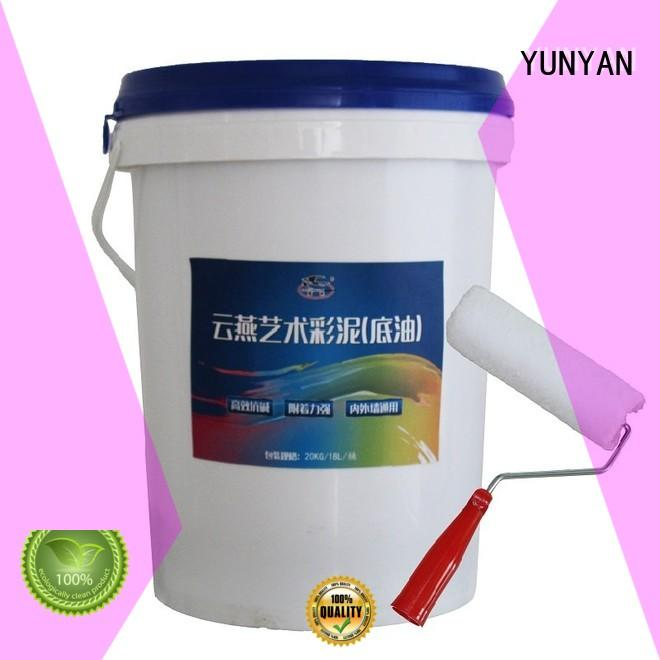 Custom natural interior stucco paint paint YUNYAN