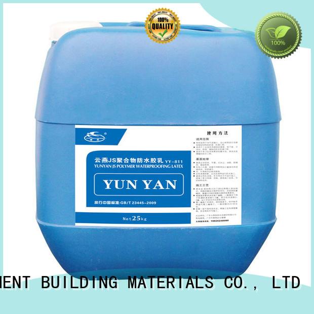 YUNYAN Brand cement setting building custom waterproof basement cement floor