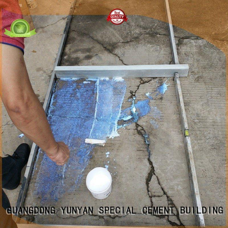 YUNYAN portable cement rendered wall interface for engineering