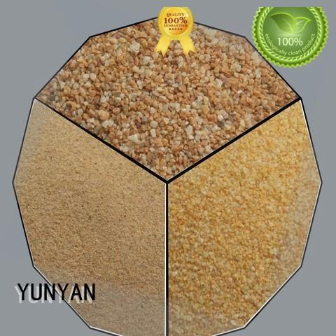 natural textured stone acrylic textured powder coat YUNYAN