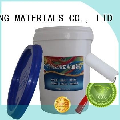 YUNYAN Brand concrete natural stucco interior stucco paint manufacture