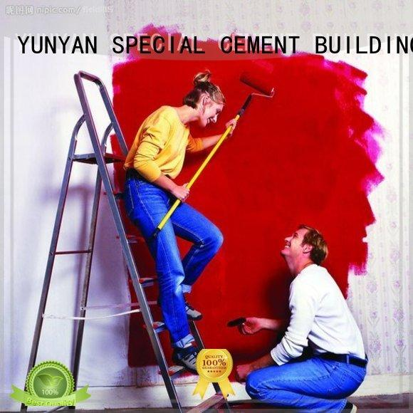 closed washable interior paint YUNYAN Brand basement waterproofing paint supplier