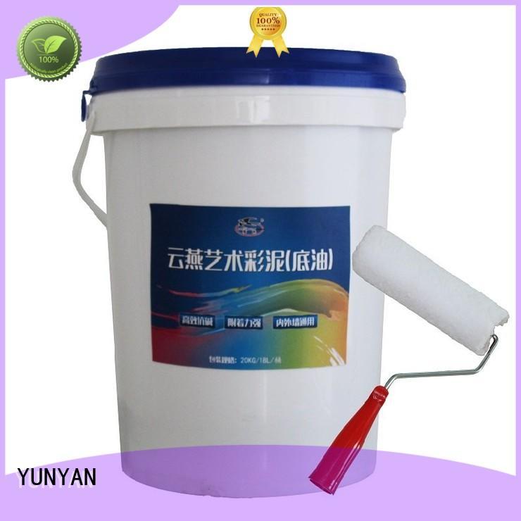 natural stucco paint painting interior stucco walls YUNYAN Brand