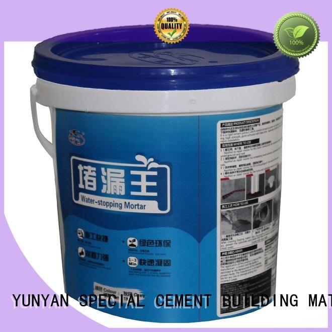 polymer waterplug latex transparent waterproof basement flooring YUNYAN