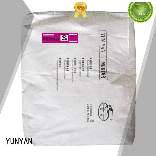 YUNYAN Brand plastering epsxps non shrink grout suppliers anticrack supplier