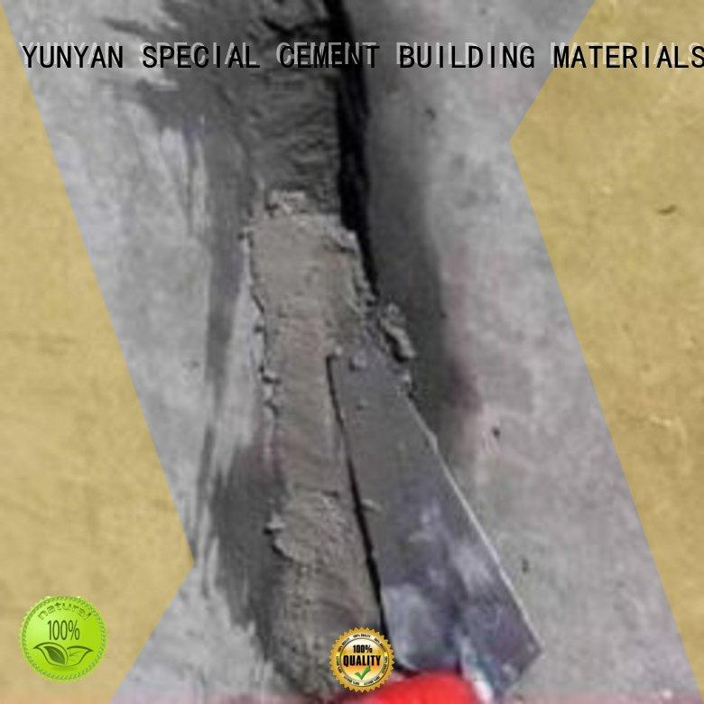 Quality YUNYAN Brand cement rendered wall mortar screed