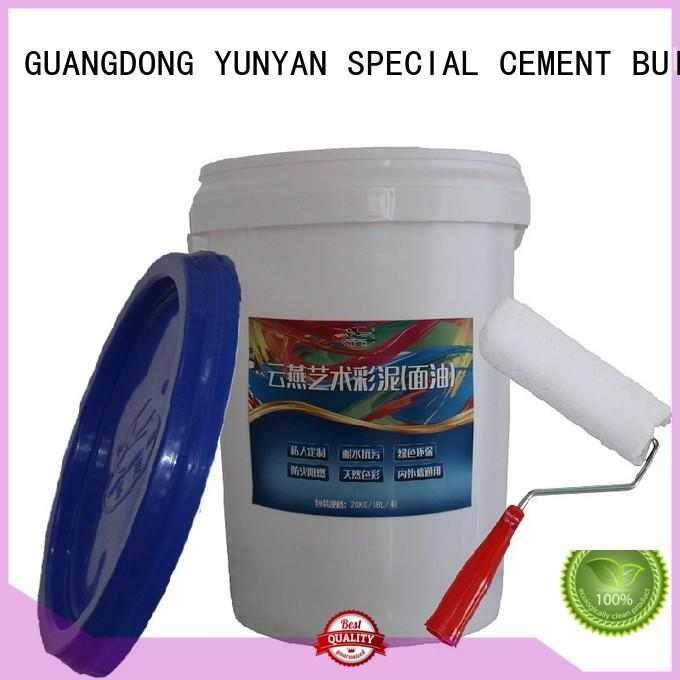 Wholesale cement interior stucco paint YUNYAN Brand