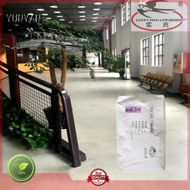 Quality YUNYAN Brand sealing concrete garage floors selfleveling