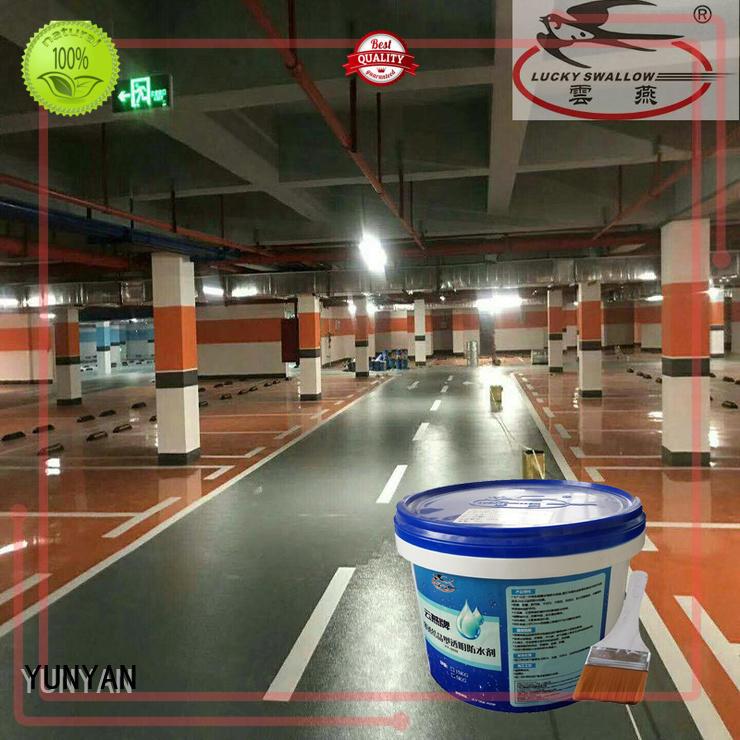 YUNYAN high-quality flooring ODM polyurethane floor paint micro floor topping