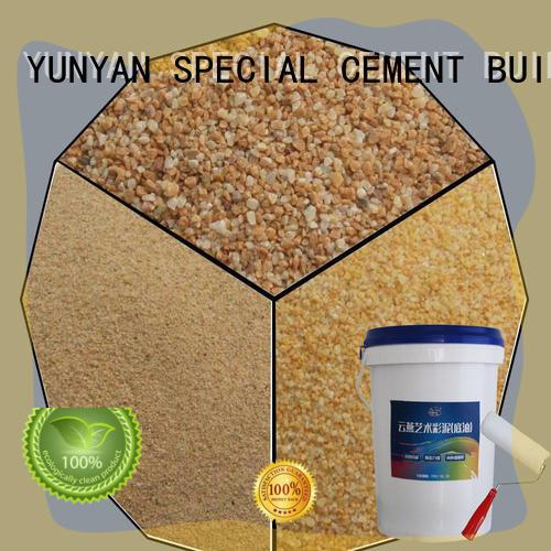 YUNYAN stone powder texture customization masonry