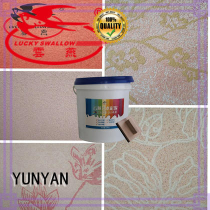 YUNYAN latest textured exterior wall coatings customization surfaces