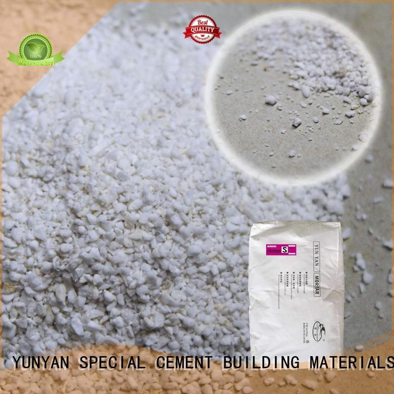 Wholesale anticrack non shrink grout suppliers YUNYAN Brand
