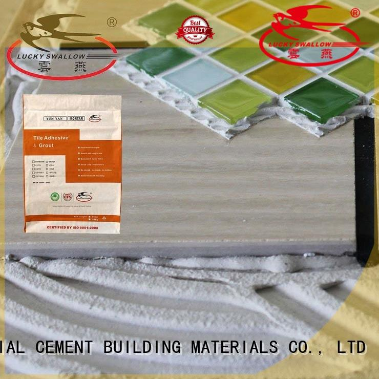 YUNYAN solid mesh mapei tile adhesive supplier new house