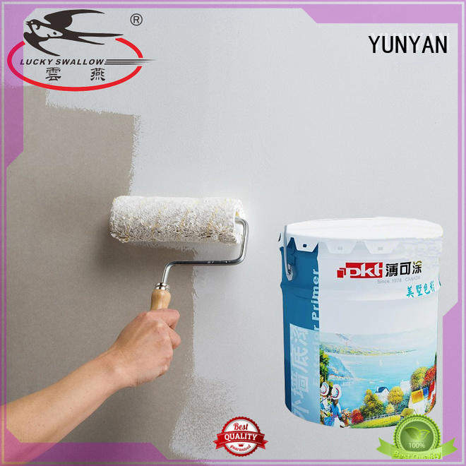 YUNYAN paint textured exterior wall coatings supplier surfaces