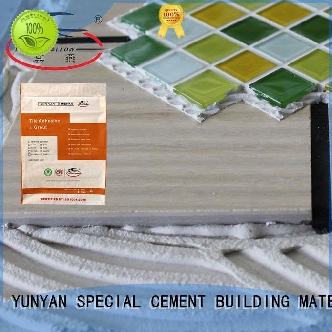 YUNYAN adhesion vinyl tile adhesive ODM floor