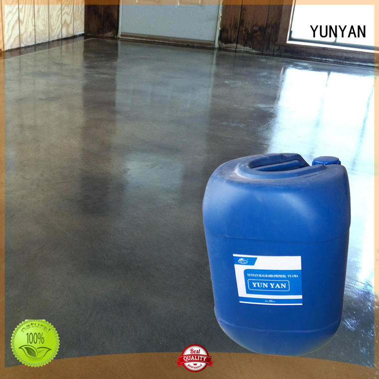 YUNYAN durable flooring customization polyurethane floor paint micro floor topping